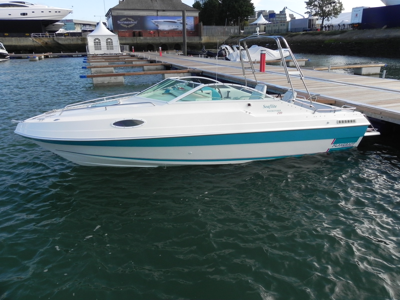 Plancraft Seaflite Weekender 21 Ft Power Boat With Large Cabin